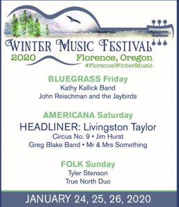 Winter Music Festival – Florence, Oregon